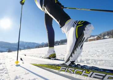 Trisha suffer accidental in cross country skiing