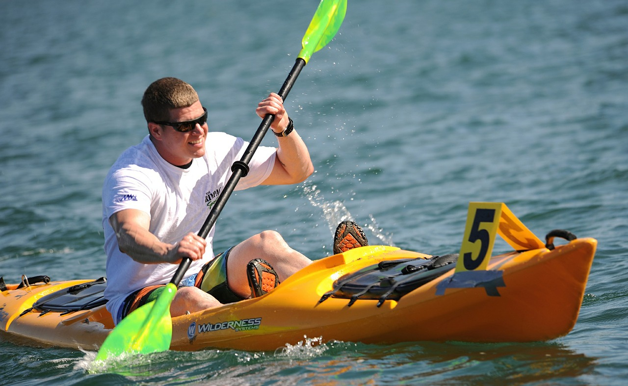 Kayak competition successfully in Ozona